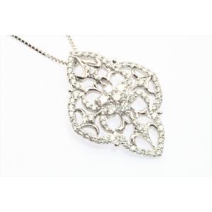 上質ダイヤモンドネックレス K18WG|megumi-1|06