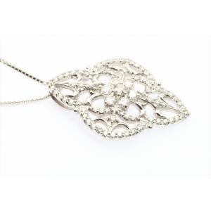 上質ダイヤモンドネックレス K18WG|megumi-1|07