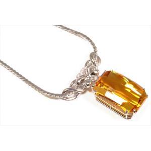 ゴールデンベリル ダイヤモンドネックレスPT900/PT850 新品 レディース|megumi-1|02