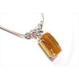 ゴールデンベリル ダイヤモンドネックレスPT900/PT850 新品 レディース|megumi-1|05