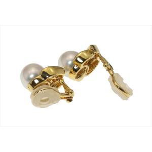 本真珠 ダイヤイヤリングK18 megumi-1 05