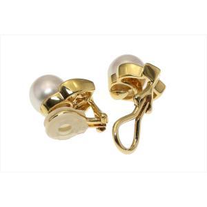 本真珠 ダイヤイヤリングK18 megumi-1 06