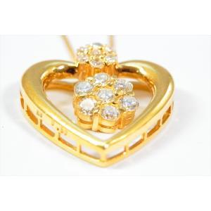 ダイヤモンド ペンダント K18 新品 レディース|megumi-1|02