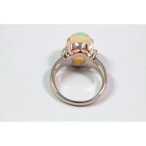 オパールダイヤモンドリングPT900|megumi-1|04