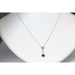 ブラウンダイヤモンド ネックレス K18WG 新品 レディース|megumi-1|02