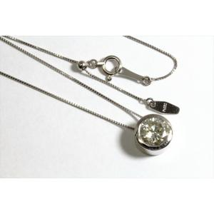 一粒ダイヤモンド ペンダントネックレス PT900/PT850|megumi-1|02