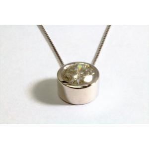 一粒ダイヤモンド ペンダントネックレス PT900/PT850|megumi-1|05