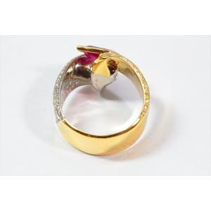 ルビー ダイヤモンドリング K18/PT900|megumi-1|04
