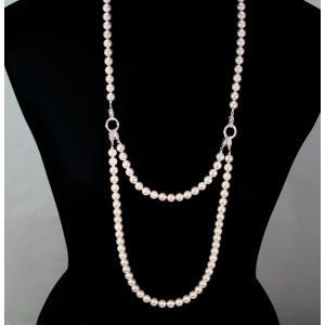 あこや本真珠ネックレス・ブレスレットSV925 3点セット|megumi-1