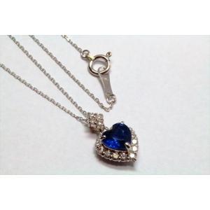 天然ロイヤルブルーサファイア ダイヤモンドネックレス K18WG 宝石鑑別書付 megumi-1 05