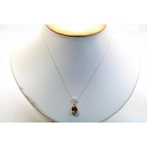 天然スフェーン ダイヤモンドネックレス PT900/ PT850|megumi-1|03