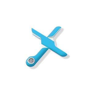 折りたためる計量スケール(ターコイズブルー) megumi-crystal