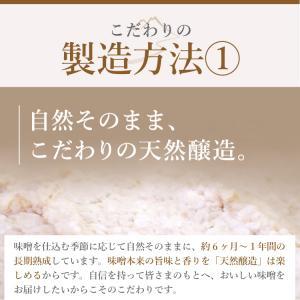 生みそ 700g袋入 お試し / 送料無料 蔵元直送 無添加 米みそ 国産 長期熟成 みそ汁 おすすめ 十二割麹 老舗の味 ポイント消化 メール便|megurokouji|05