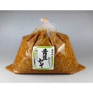 秘伝 青豆みそ 2kg袋入|megurokouji