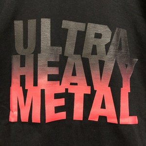 ULTRA HEAVY METAL T-SHIRT  今シーズンのタイトルロゴ。今シーズンのテーマの...