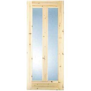 ガラス2Gタイプ w780mmx36mmx1970mm / 建具 ドア 無垢 クローゼット|meibokuya-shop