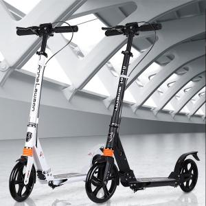 キックボード 子供 大人用 キックスクーター 8インチ 折りたたみ 高さ調整可能 キックバイク キックスケーター 大人 子供用 ベルト付き|meichepro
