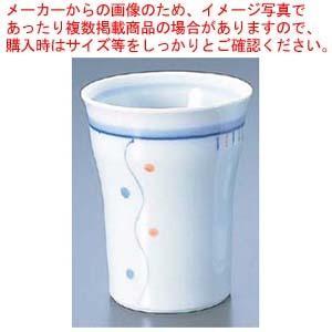 ほのぼの湯のみ 水玉 No.711 meicho2