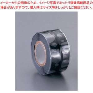 シリコンゴムテープ  1m巻   黒|meicho2