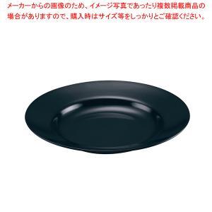 メラミン ラーメン丼受皿 No.50 黒