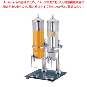 KINGOジュースディスペンサー2.6L 36402-2(2連タイプ)|meicho2