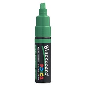 三菱鉛筆 ブラックボードポスカ 太字 緑 PCE2508K1P.6 ミドリ|meicho2