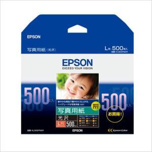 エプソン 写真用紙(光沢)L版 500枚 KL500PSKR|meicho2