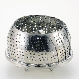 パール金属 便利小物 万能蒸し器 [ 折りたたみ足式 ] 調理器具 厨房用品 厨房機器 プロ 愛用 meicho2