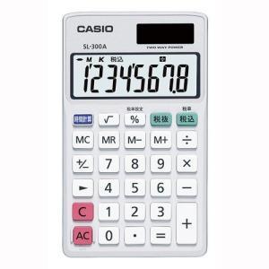 電卓 時間/税計算 SL-300A-N カシオ【 オフィス機器 電卓 電子辞書 電卓 】 meicho2