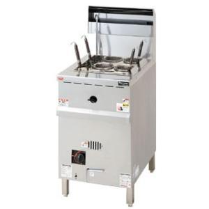ガス角槽型ゆで麺機 MRLN-04C  12A?13A(都市ガス)メーカー直送/代引不可|meicho|01