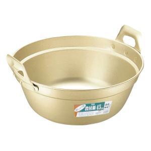 アルミしゅう酸 段付鍋 42cm meicho