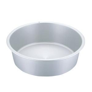 アルミ タライ 42cm【 軽い アルミタライ アルマイト シルバー 硬質アルミ たらい 洗い桶 洗桶 】|meicho