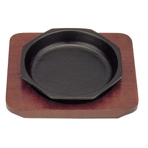 【即納】 三和 ミニステーキ皿 八角 14cm|meicho
