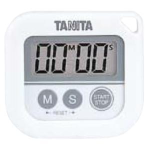 キッチンタイマー 丸洗いタイマー100分計 TD-376 ホワイト【】|meicho