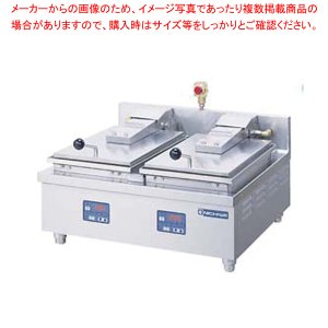 餃子焼き器 餃子焼機 業務用 電気自動餃子焼器2連式 NGM-5.6AT 3相200V メーカー直送/代引不可【】|meicho