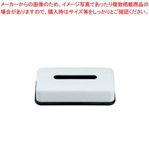 メラミン ティッシュボックス・黒底 HW-1304|meicho