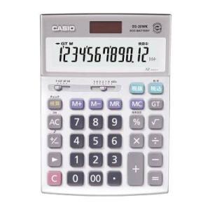 電卓 デスクタイプ DS-20WK カシオ【 オフィス機器 電卓 電子辞書 電卓 】 meicho