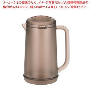 BK ノンウェットピッチャー 1.2L スモークブラウン|meicho