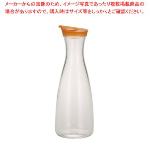 アクリル ジュース&ウォーターボトル KY-339-O オレンジ|meicho