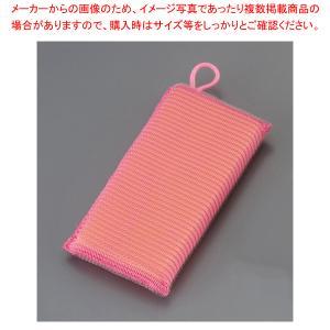 ストロング タフネットスポンジ (5個入)ピンク