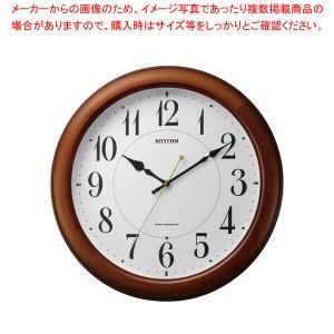 リズム 電波時計 ピュアライトM25 4MYA25SR06|meicho