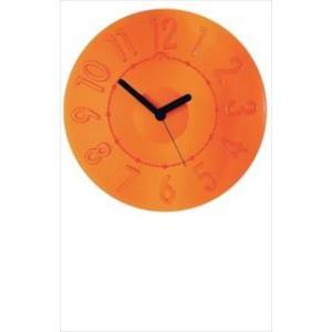 グッチーニ ウォールクロック 0499.0045 オレンジ|meicho