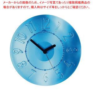 グッチーニ ウォールクロック 0499.0066 ブルー meicho