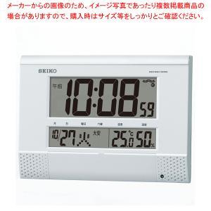 セイコー 電波プログラム付掛置兼用時計 SQ435W|meicho