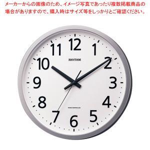 リズム 電波時計 フィットウェーブジニア 4MYA38SR19|meicho