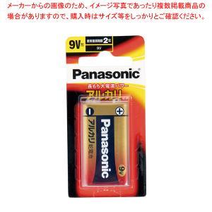 パナソニックアルカリ乾電池 9V形 6LR61XJ/1B|meicho