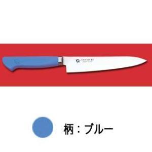 イノックス抗菌プラスチックカラー柄仕様ペテナイフ (ブルー) 120mm【】