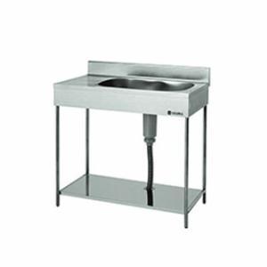 【即納】 東製作所 業務用一槽水切シンク ポータブルシリーズ EKPM1-800R|meicho