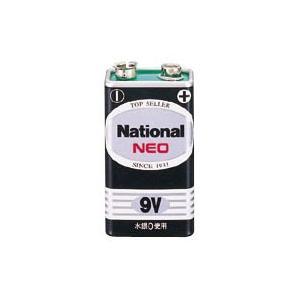 パナソニック パナソニック乾電池 ネオ黒 9V 6F22NB/1S|meicho
