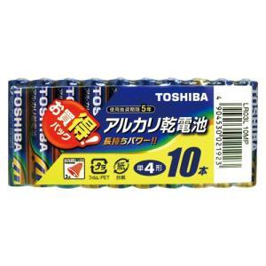 アルカリ乾電池 お買得パック LR03L 10MP 10本 東芝 meicho